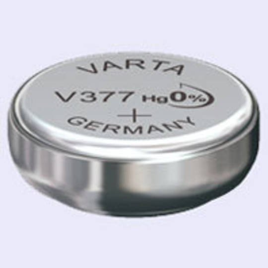 VARTA 377 SR66 SR626SW Watch Button Battery
