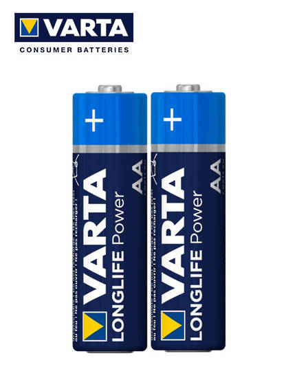 VARTA AA Size Alkaline Battery 2 Pack