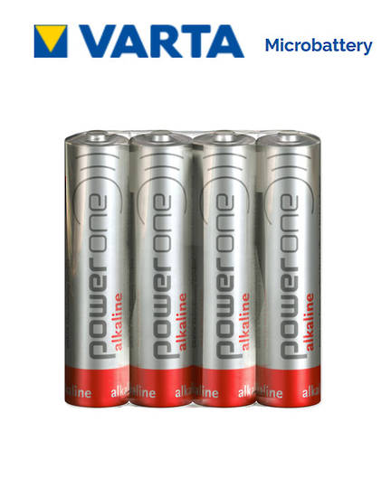 VARTA POWERONE AAA Alkaline Battery, Pack of 4