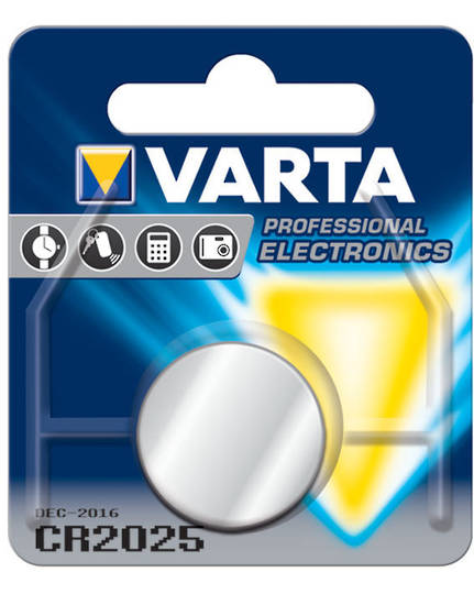 VARTA CR2025 Lithium Battery