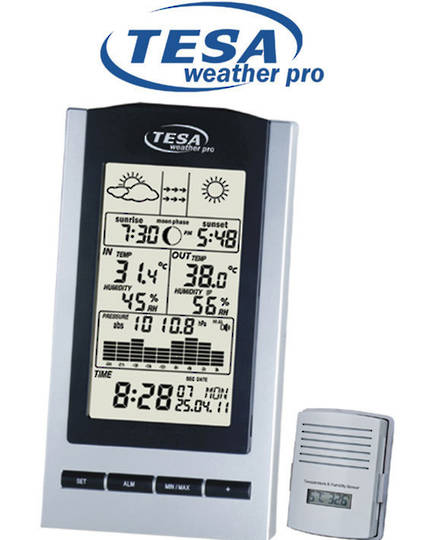 WS1151 TESA NZ/AUS Moon Phase Weather Station
