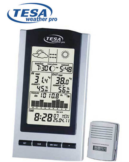WS1151 TESA NZ Moon Phase Weather Station