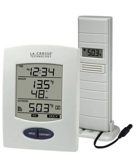 WS9029U-IT La Crosse Indoor Outdoor Thermometer with Probe