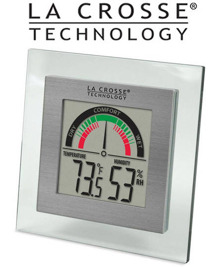 WT-137U La Crosse Digital Thermo Hygrometer Comfort Meter