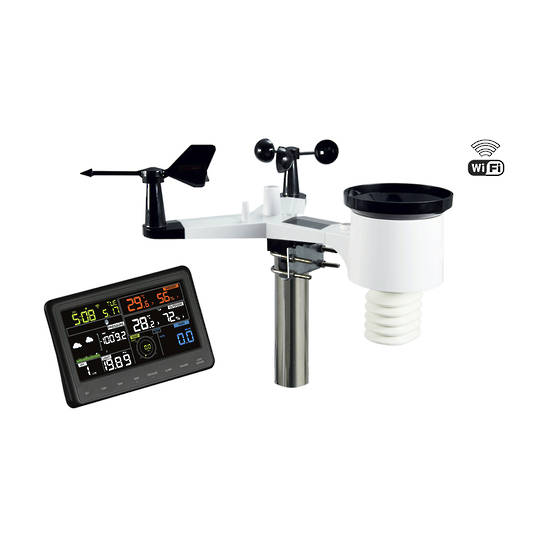 XC0370 DIGITECH 7 Inch Colour Wireless Weather Station