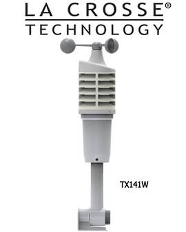 TX141W La Crosse Wind Sensor for 327-1414W