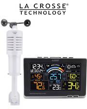 327-1414W Ver 2 La Crosse Prof Wind Speed Weather Station
