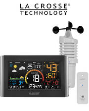 V21-WTH La Crosse WIFI Wind Speed Colour Weather Station