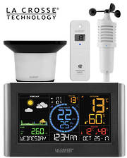 V22-WRTH La Crosse WIFI Wind Speed Rain Colour Weather Station