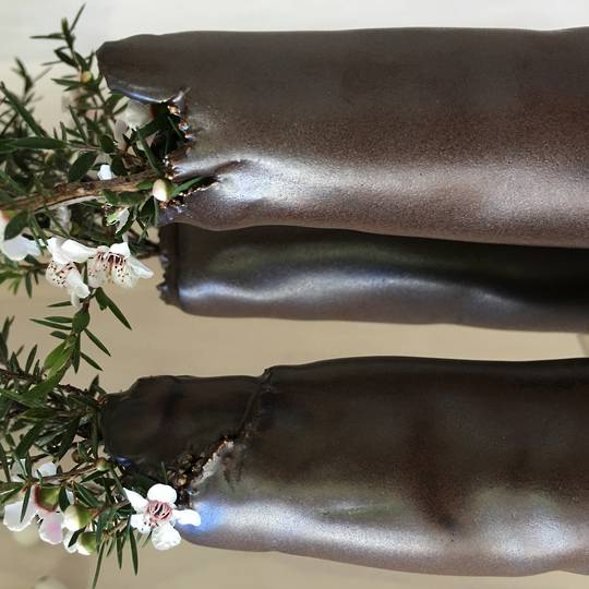 chocolate tube vases
