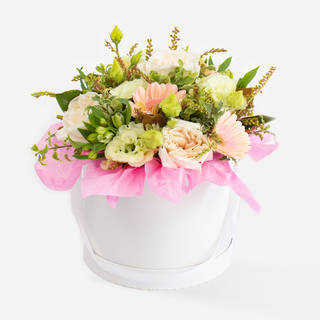 BLUSH HAT BOX