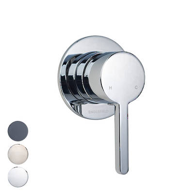 Studio Pin Lever Bath/Shower Mixer