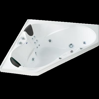 Evora Hydrotherapy Massage Corner Spa Bath
