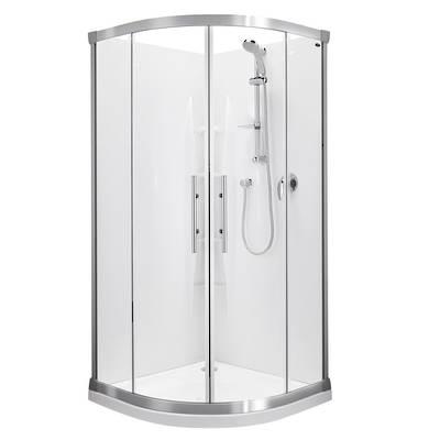 Valencia Round Sliding Shower 900x900mm