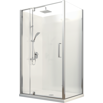 Milano Corner Shower 1200 x 900mm