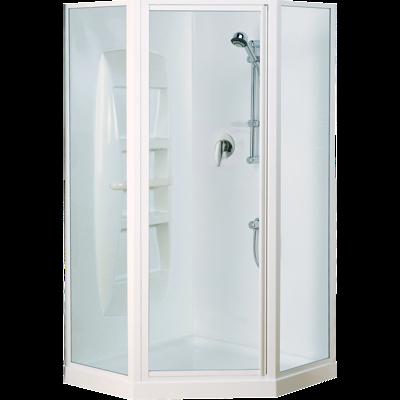 Sapphire Angle Corner Shower 1000 x 1000mm