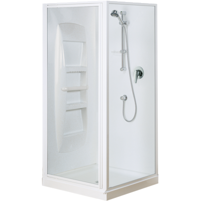 Sapphire Square Corner Shower 750 x 900mm