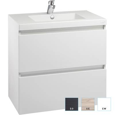 Valencia Wall-hung Vanity 750mm