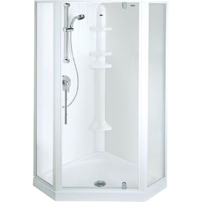 Sapphire Angle Corner Shower 900 x 900mm