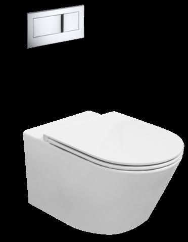 Evora wall hung toilet