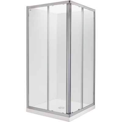 Studio Glide Square Sliding Shower