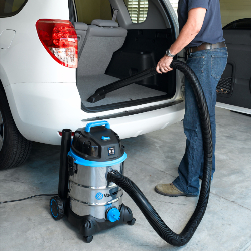 VQ810SWD 8 Gal Stainless Steel Wet Dry Vac Trunk  73336