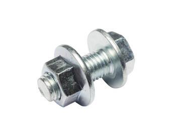 Flange Purlin Bolt/Nut 4.6 - Zinc