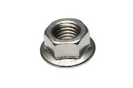 Stainless Steel Serrated Flange Nut - 316