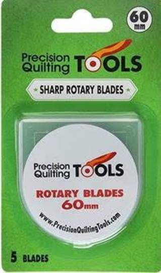 60mm Rotary Blades 5 Pack