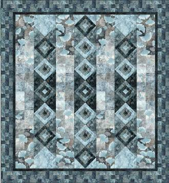 Hokku Quilt Kit - Iceberg Colourway