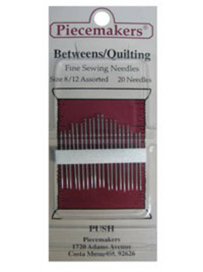 Quilting Size 8/12 Assorted