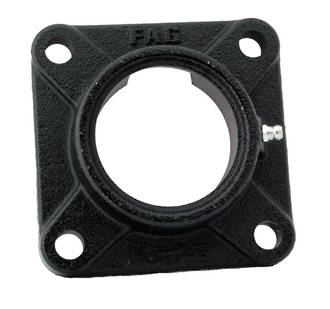 F205: Ball Bearing Unit Housing Flange 4 Bolt