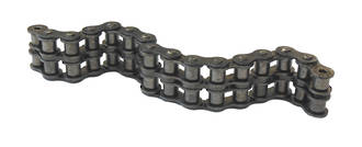 10B2SD 10FT BOX: Chain BS Duplex 5/8 INCH Pitch 10ft Box Includes 1 Con Link