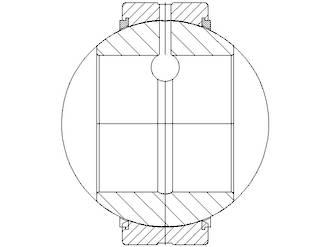 GE35GS 2RS: 35X62X35X22MM Ball Bushing Spherical Plain Metric