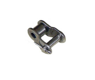 08B1 CRK SS: Chain BS Simplex 1/2 INCH Pitch Crank Link Stainless