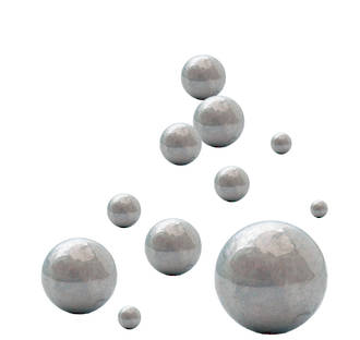 3/8 STEEL BALL: 3/8 INCH Steel Ball 10 Pack