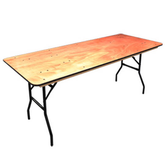 Trestle Table, 1.8m Seats 6