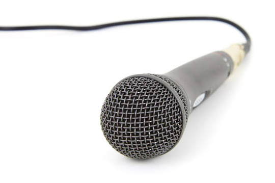 Microphone (With Cords)