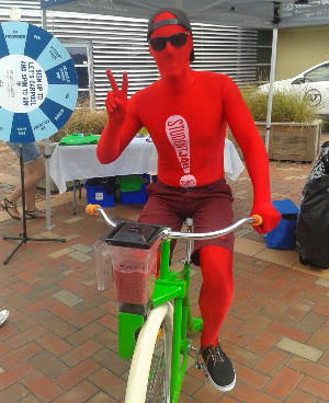 Unitec smoothie bike red suit-836-117