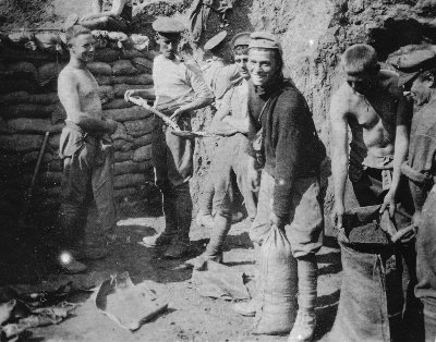 Young soldiers at Gallipoli