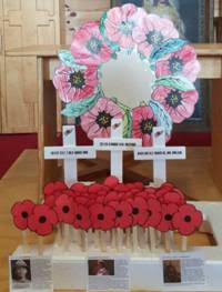 Poppies and crosses activities from pre-school