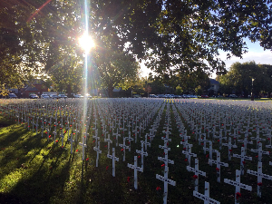 Christchurch Field of Remembrance 2018