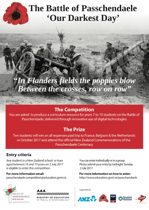 Passchendaele Competition Poster