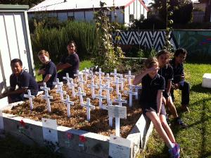 School Field of Remembrance