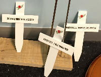Small crosses for Early Childhood Centres