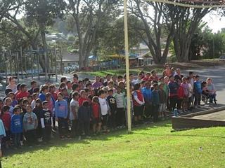 May Street School children