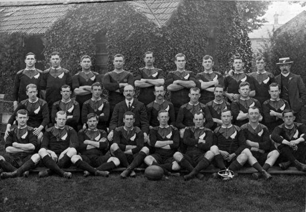 Original All Blacks team photo