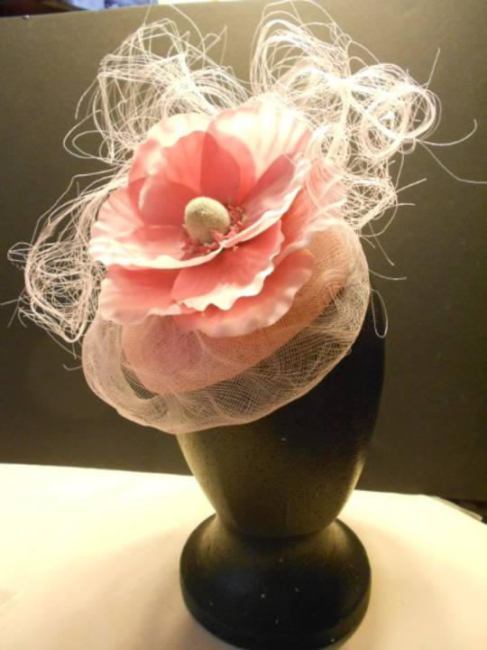 Pink poppy with crinoline $230