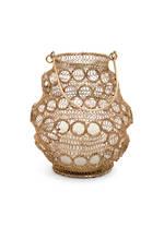 Antique Brass Wire Lantern