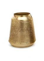 Antique Brass Metal Lantern - Large
